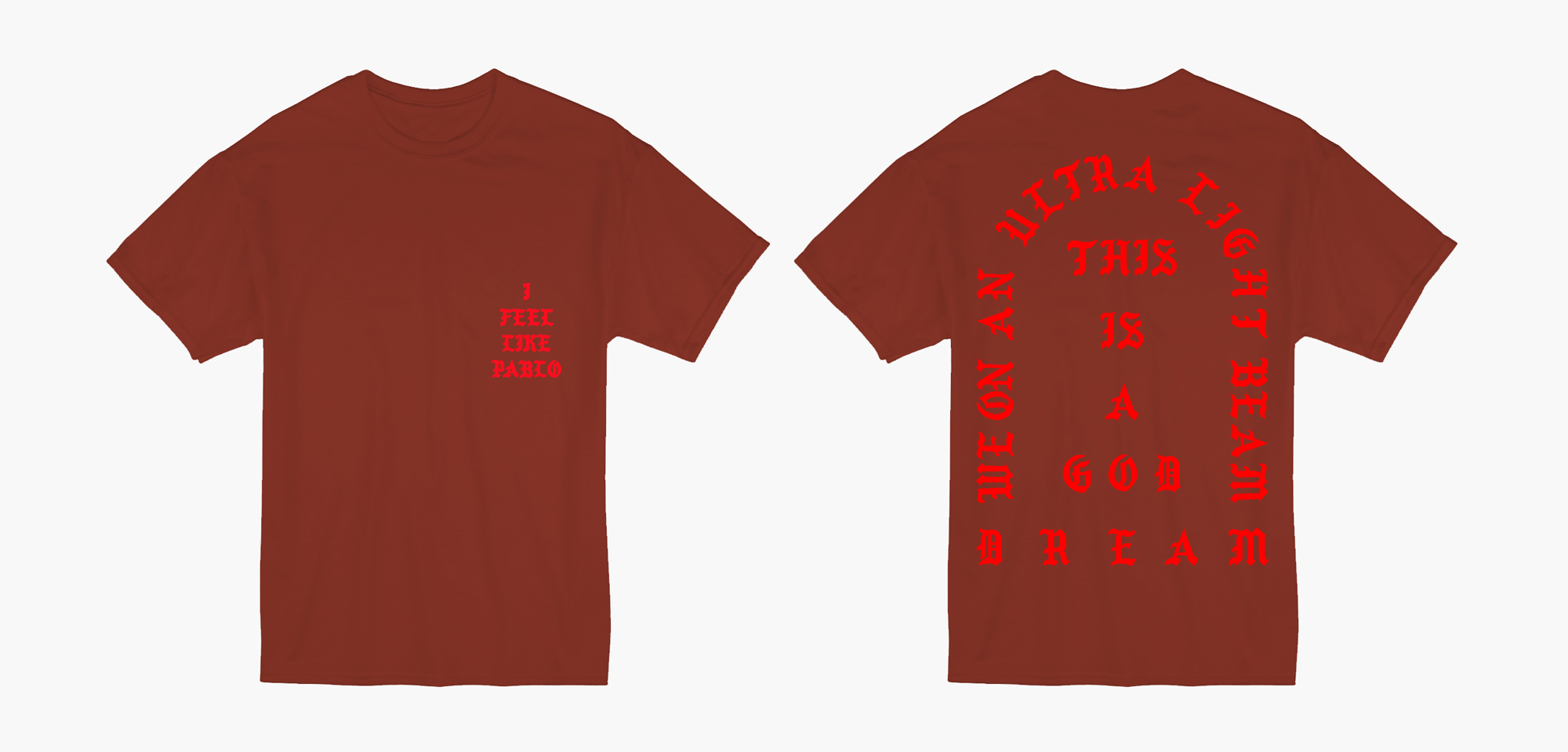 ifeel_likepablo_tshirt_red