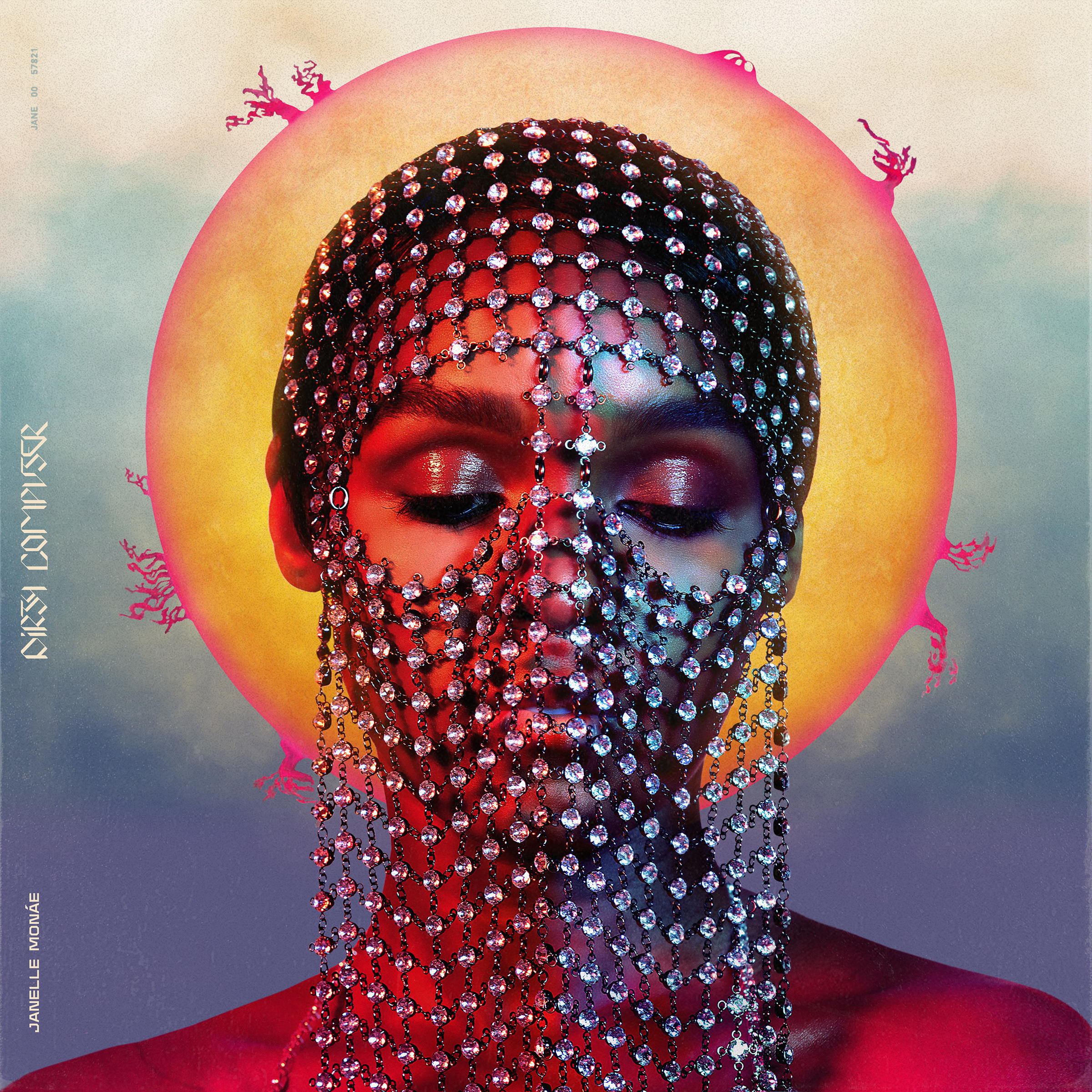 Image result for janelle monae dirty computer album cover